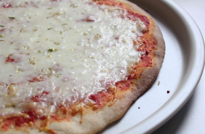 Pizza margarita perfecta